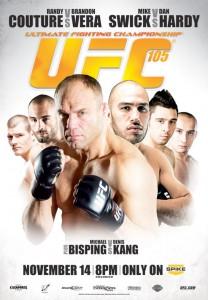 UFC 105 Poster