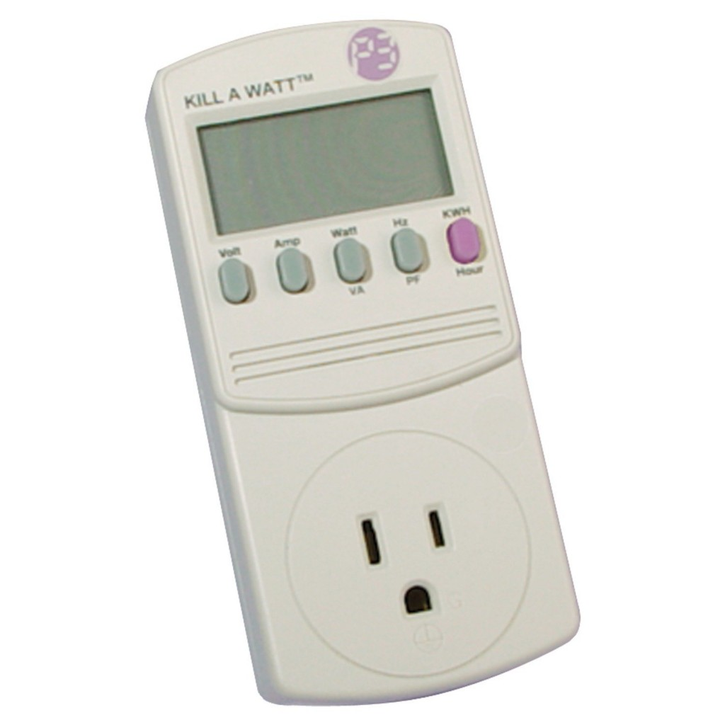 Outlet Wattage Meter : Kill a watt electricity usage monitor review